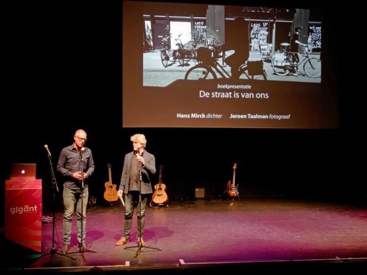 Jeroen Taalman en Hanz MirckCultureel Café 21 mei 2019